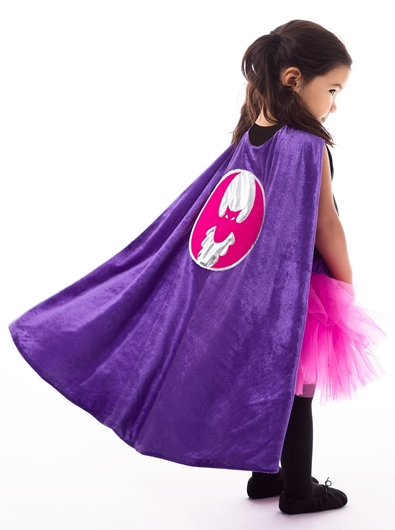 Picture of Girl Bat Cape ★