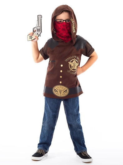 Picture of Vest-Hoodie - Wild West Force ★