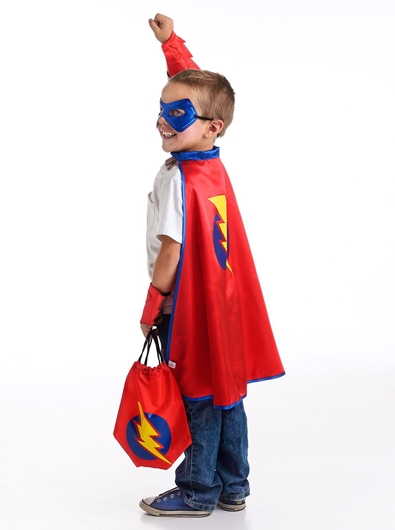 Picture of Drawstring Backpack - Boy Hero