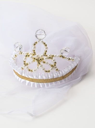 Picture of Wedding Veil Crown