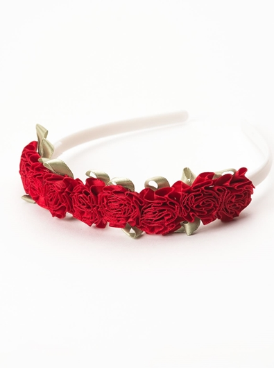 Picture of Flower Headband - Red